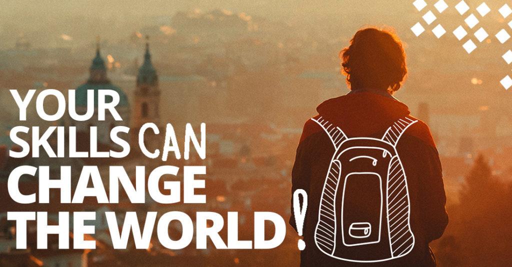 pack yours skills : changer le monde en voyageant