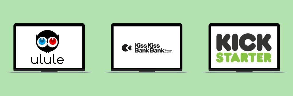 Ulule, Kiss kiss bank bank, Kickstarter