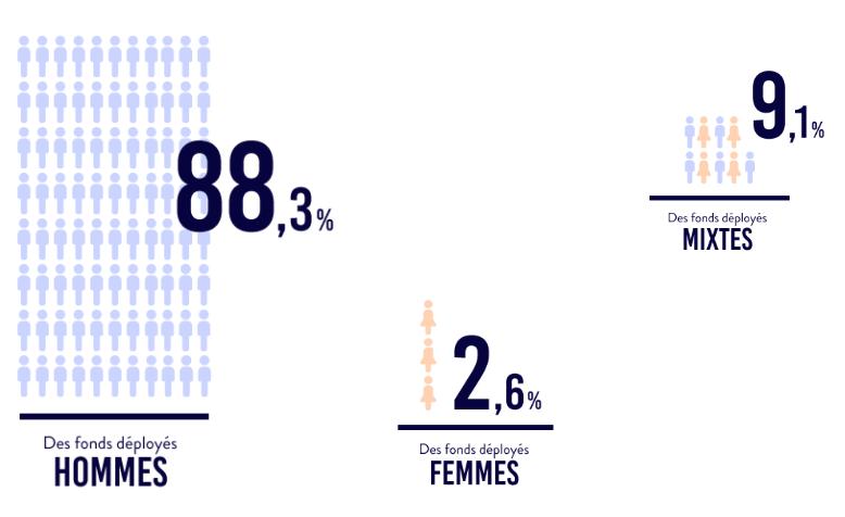 Femmes : inégalités dans les levées de fonds